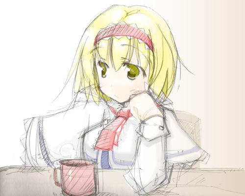 麦茶じゃなくて紅茶にしたい